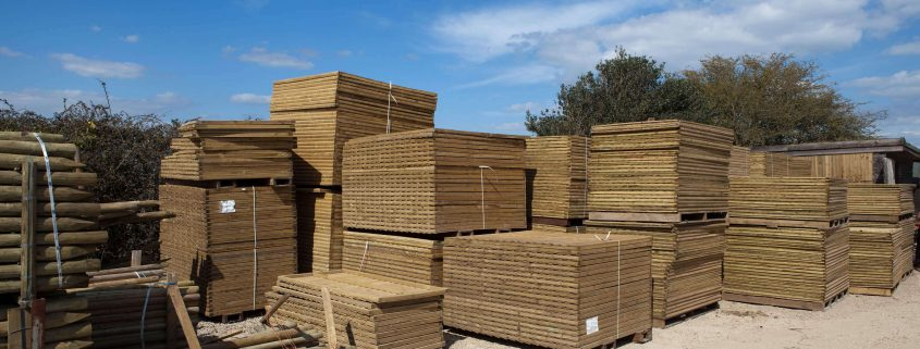 yard timber
