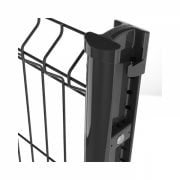 A photo of BEKAFIX Universal shaped post for panels and decorative railings