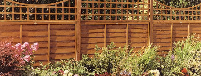 Photo of Decorative Fence Panels in a Garden