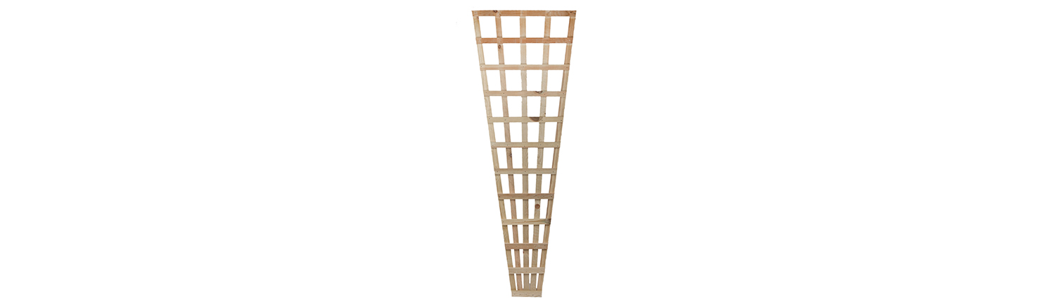 A photo of a 5 Bar Fan Trellis