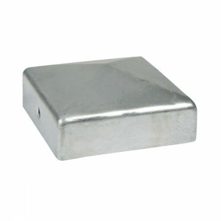 FenceMate Durapost Post Cap with Bracket in Galvanised Metal