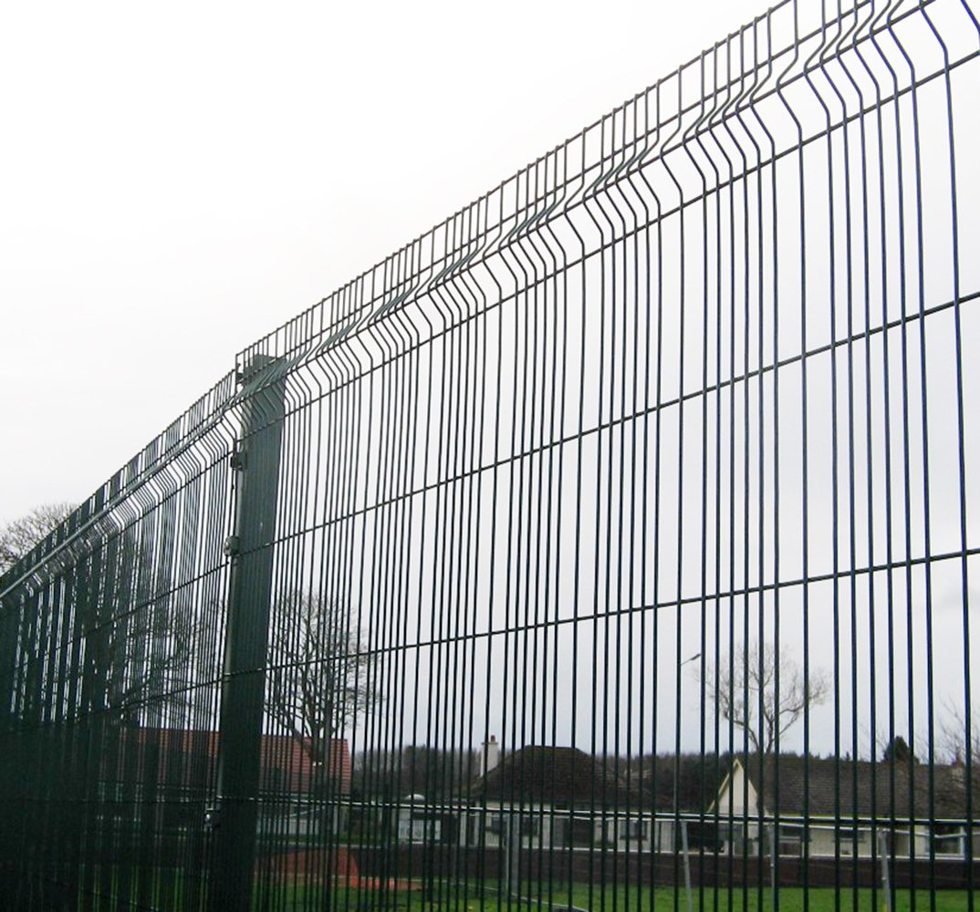 A photo of a Heras Athena Mesh fence