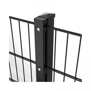 A photo of a BETAFENCE D-Lox post