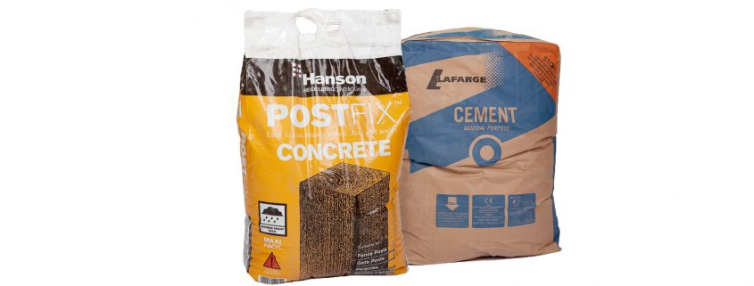 Photo of Cement and Post Mixes