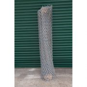 Photo of Galvanised Chain Link Fencing wrapped up