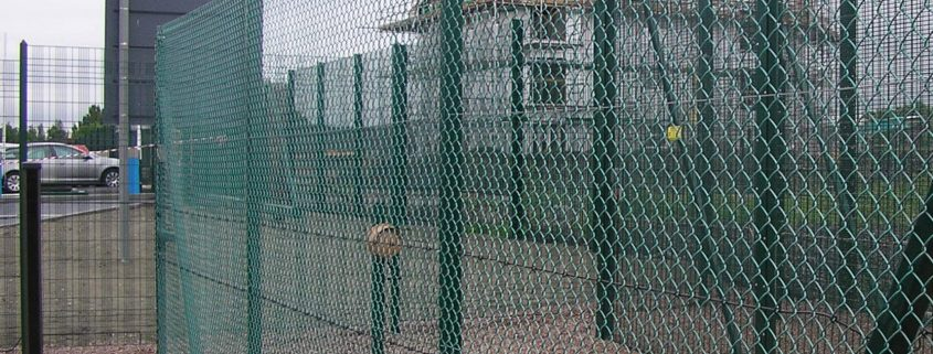 A photo of Chain Link Fencing