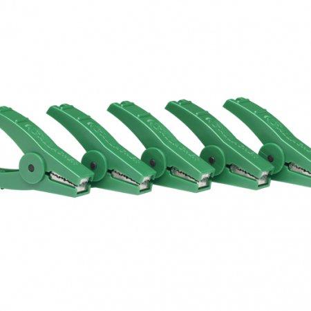 Crocodile Clip Green