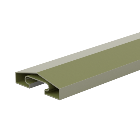 Fencemate DuraPost Capping Rail 65mm in Olive Grey