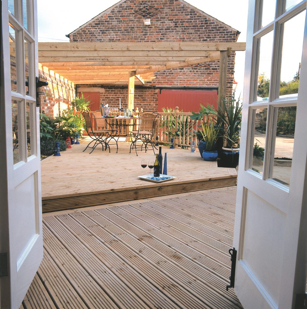 High Quality timber Decking