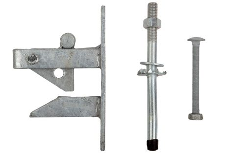 A Photo of an auto Field Gate Latch Set