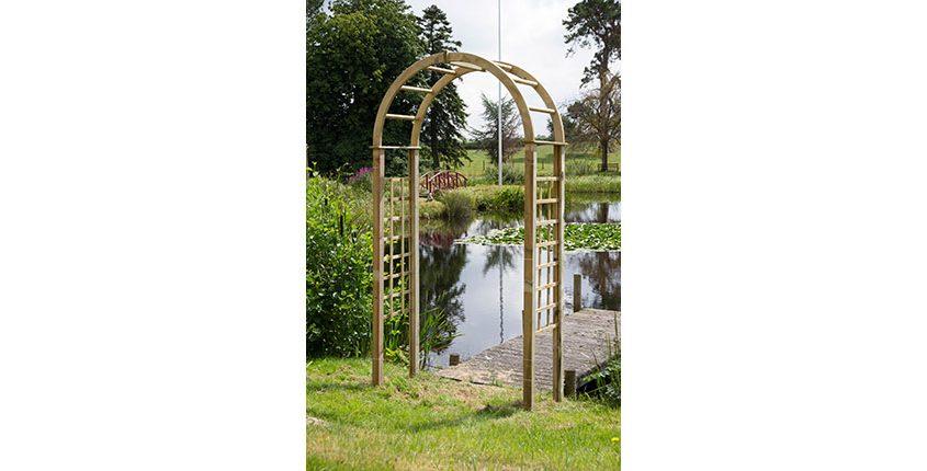 Photo of a Garden Arch
