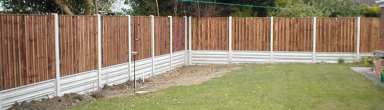 Photo of Heavy Duty Closeboard Fencing