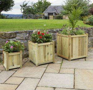 Cambridge wooden Planters