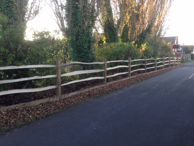 Photo of Post and Rail fencing