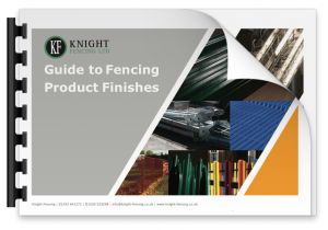 Fencing Product Finishes Guide