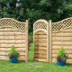 Boundary Fencing With A Gate