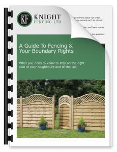 Garden Boundary Fencing Guide