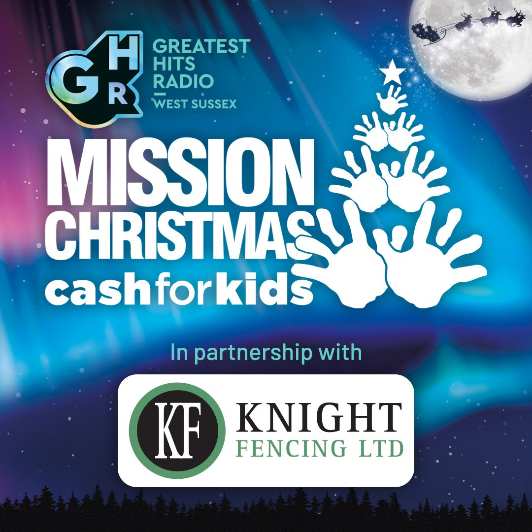 Greatest Hits Radio's Mission Christmas Appeal In Partnership with Knight Fencing