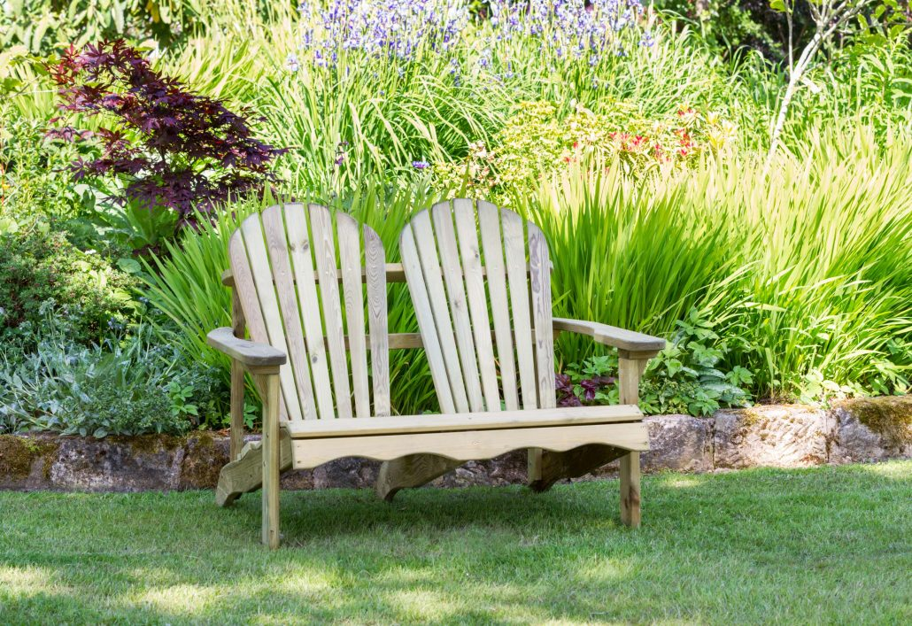 Lily Relax Double Seat Garden Furniture Knight Fencing