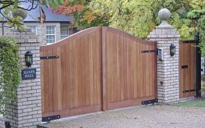 Needham Gates - Wooden Entrance Gates