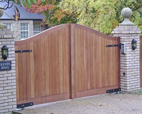 Needham Gates - Wooden Entrance Gates