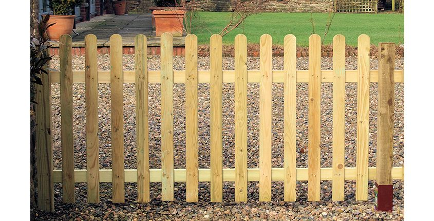 Photo of Palisade Picket Fencing