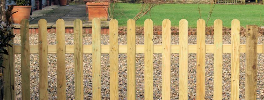 Photo of Palisade Fencing