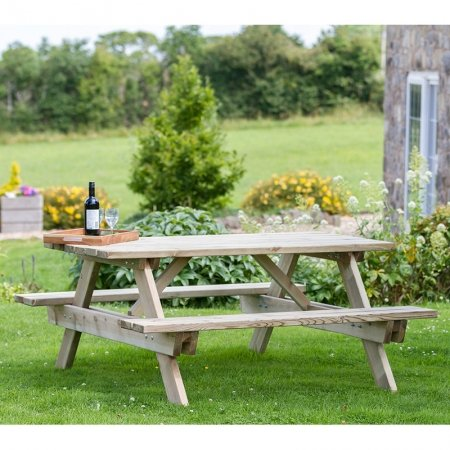 Photo of a Picnic Bench