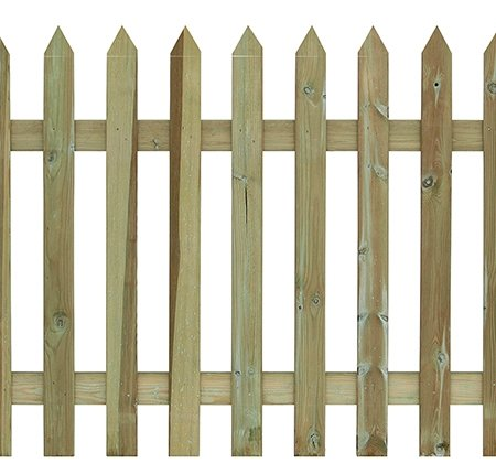 Pointed Top Palisade Fencing
