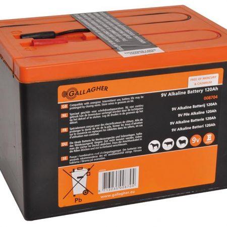 Powerpack Alkaline battery 9V 120Ah - 160x110x115mm