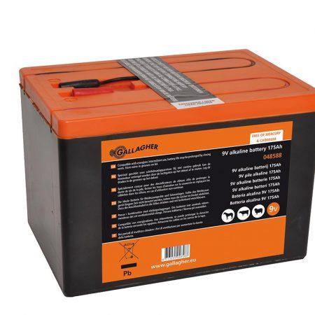 Powerpack Alkaline battery 9V 175Ah - 190x125x160mm
