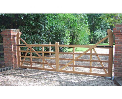 Photo of Raised Halve Gate