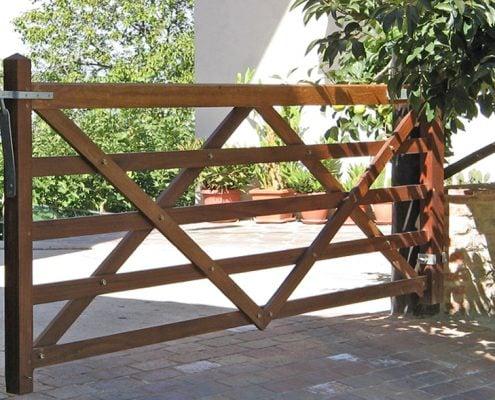 Rushbrooke Gate Timber Five Bar Field Gate