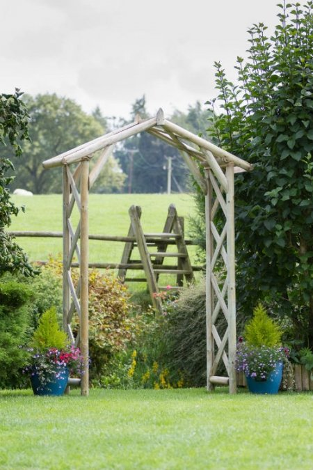 photo of Rustic Garden Arch