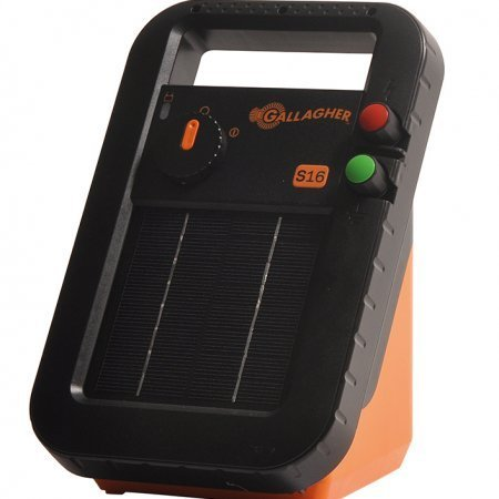 Solar Energizer S16 incl. battery