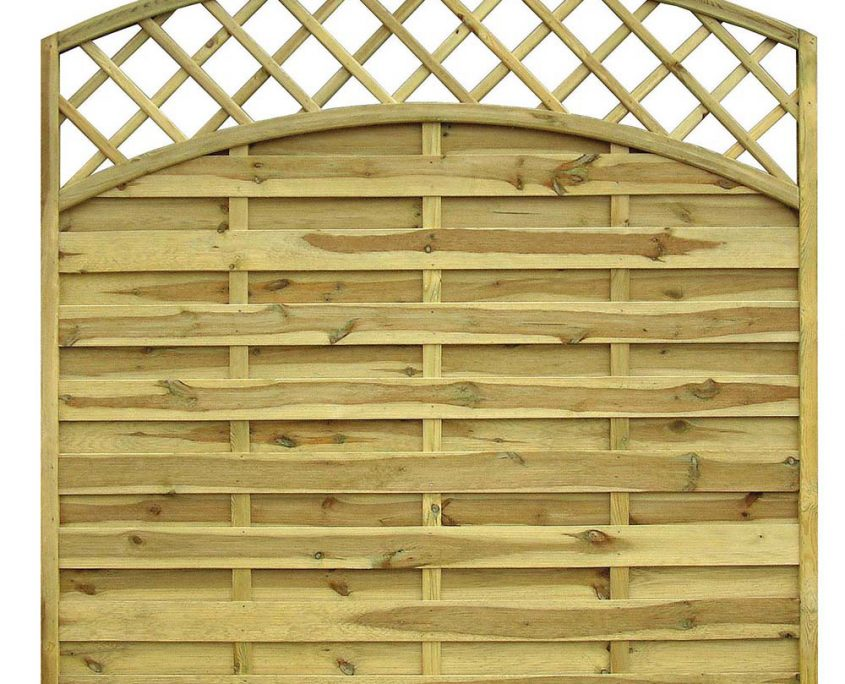 San Remo Bowtop Panel with Trellis