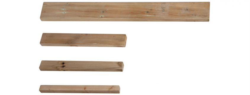 Photo of Sawn Rails