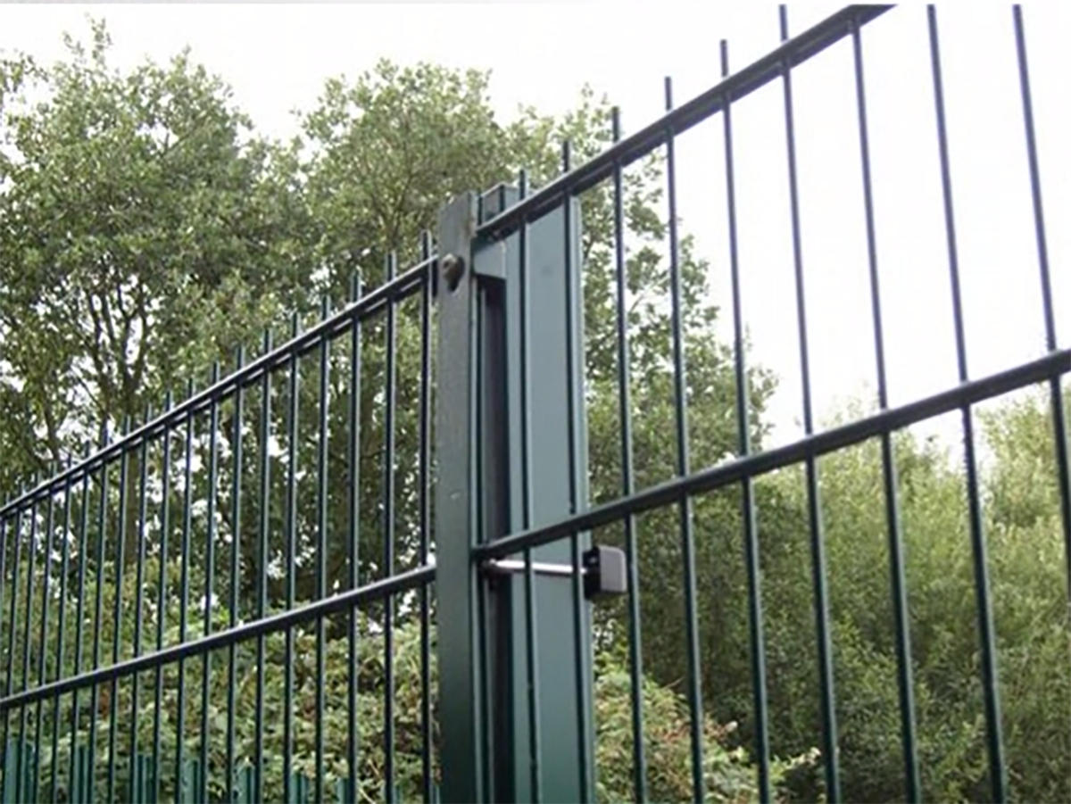 A photo of a Heras Pallas Xtra Fence