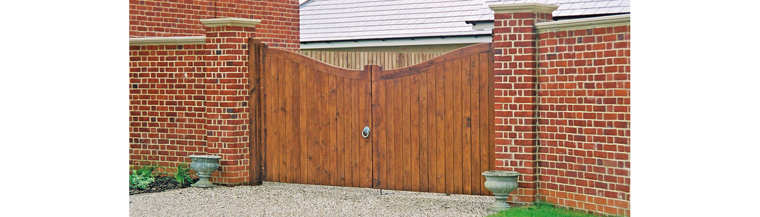 Southwold Gate Timber Entrance Gates