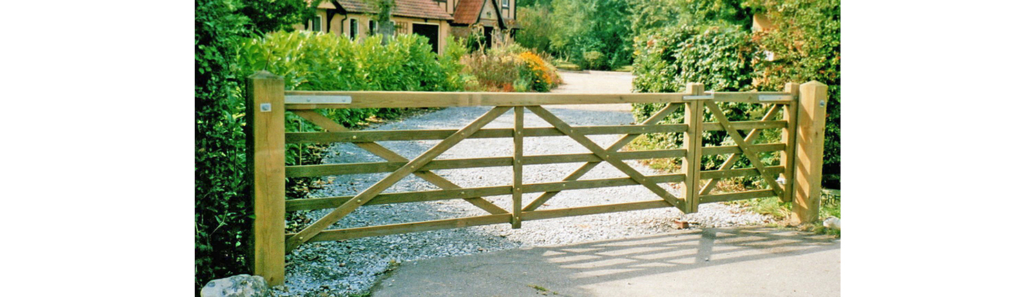 Photo of a Suffolk Gate