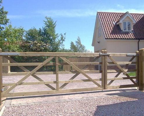 Suffolk Gate - Timber Five Bar Field Gates