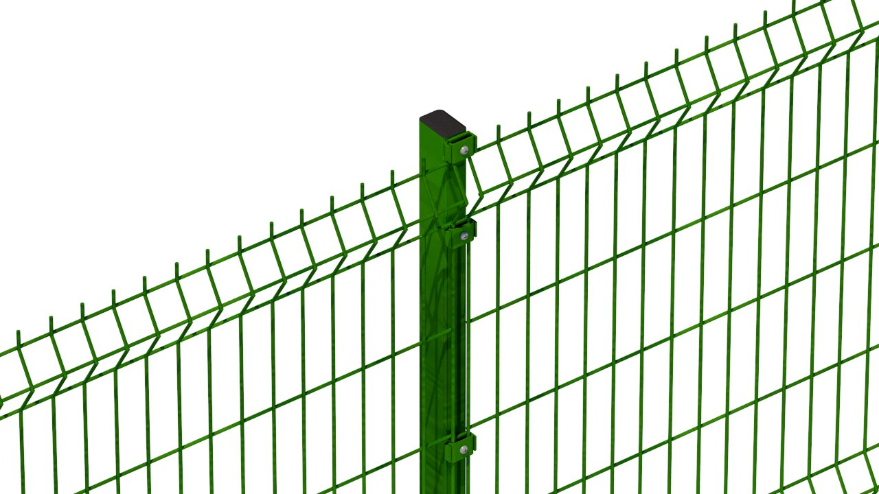 A photo of a Heras Triton mesh Fence