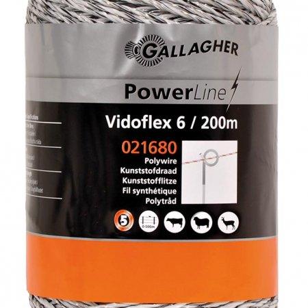 Vidoflex 6 Powerline White 200m