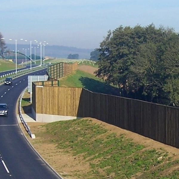 acoustic fencing for noisy highways