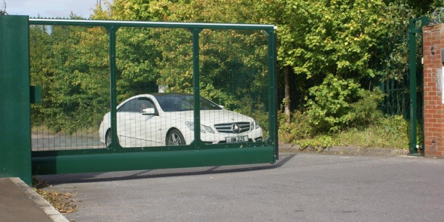 automatic gate for car park