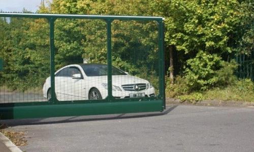 automatic gate for car park