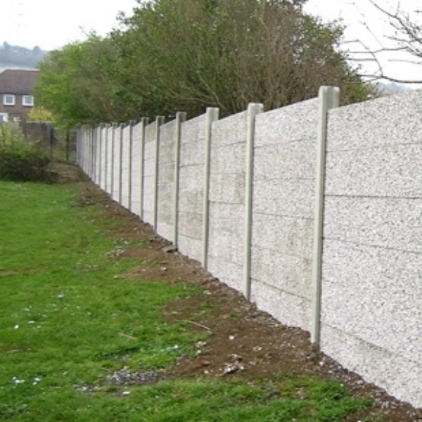 concrete wall panel fencing