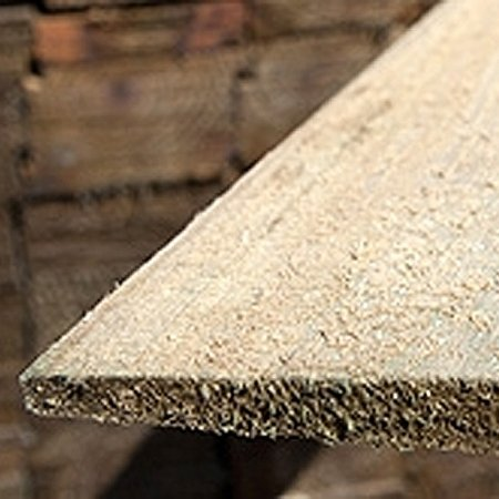 Photo of featheredge board fence panel