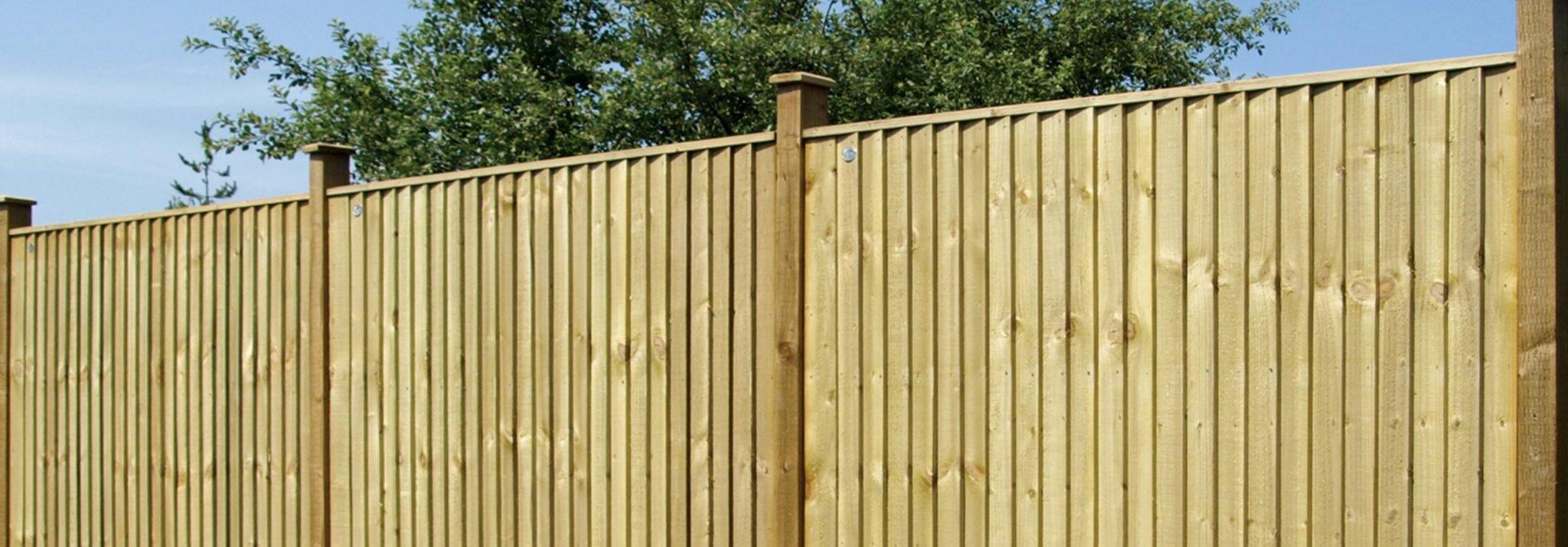 Closeboard Fencing