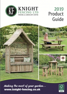 Cover of the Knight Fencing leisure product guide 2019